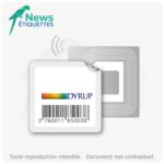 Etiquette intelligente NFC NTAG203 préchargée en données impression couleur