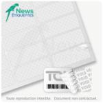Etiquette de sécurité polyester VOID en planche