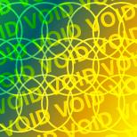 Étiquette holographique