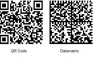 Etiquette code-barres - QR Code ou Datamatrix
