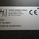 Etiquette aluminium anodisé alu 0.5mm